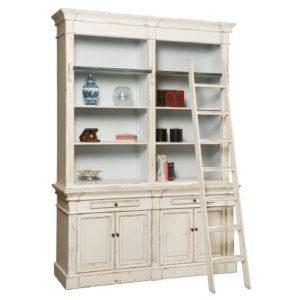 libreria-maison-blanche-con-scala